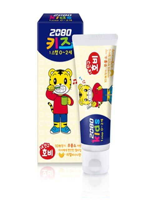 Зубная паста 2080 Kids 1 Step Banana Toothpaste 60г