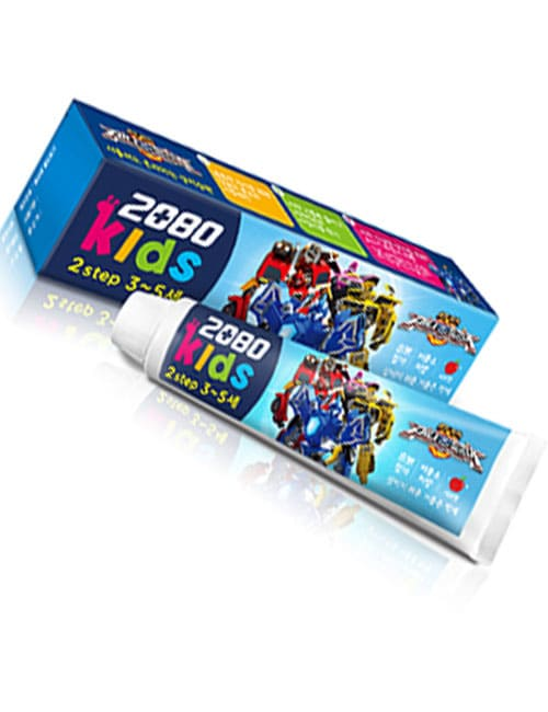 Зубная паста 2080 Kids 2 Step Apple Toothpaste 75г