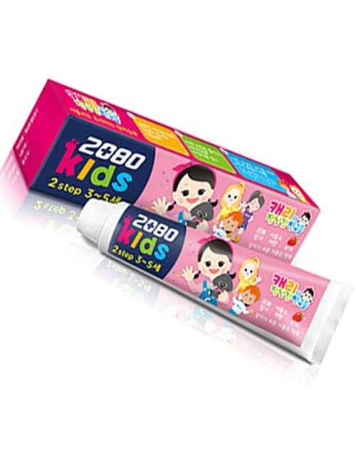 Зубная паста 2080 Kids 2 Step Strawberry Toothpaste 75г