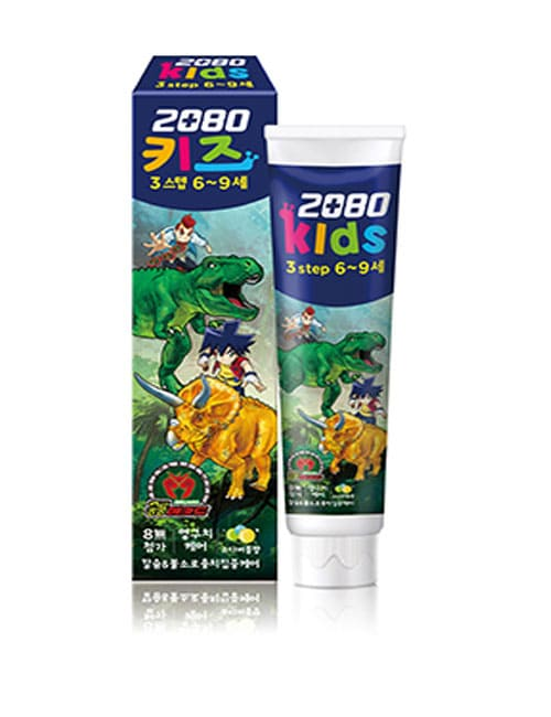 Зубная паста 2080 Kids 3 Step Soda Bubble Toothpaste 75г