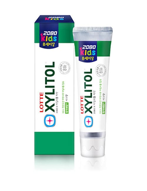 Зубная паста 2080 Kids Apple Xylitol Toothpaste 80г