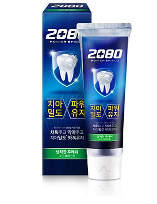 Зубная паста 2080 Power Shield Green Peppermint Toothpaste 120г