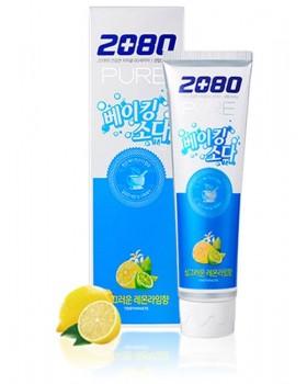 Зубная паста 2080 Pure Baking Soda Lemon Lime Toothpaste 120г