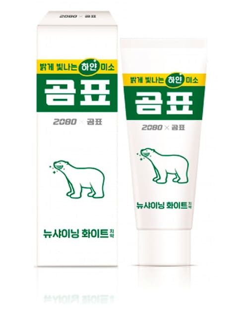 Зубная паста 2080 New Shining White Gom Pyo Collaboration Toothpaste 120г