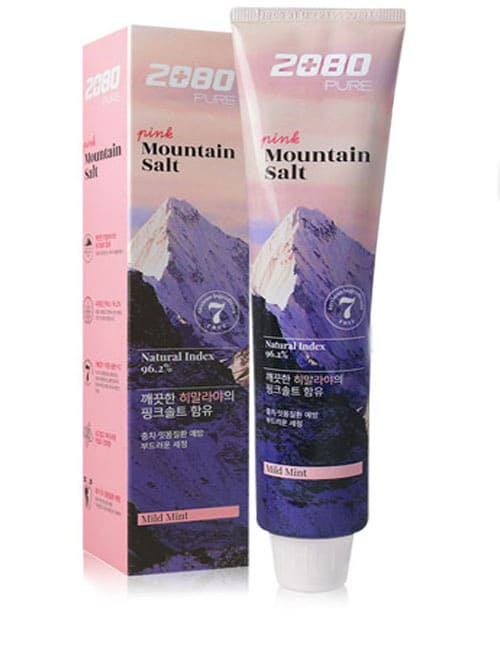 Зубна паста 2080 Pure Pink Mountain Salt Toothpaste 120г