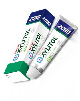 Зубна паста 2080 Xylitol Apple Mint Flavor Toothpaste 100г