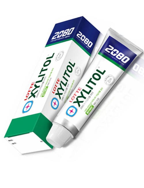 Зубная паста 2080 Xylitol Apple Mint Flavor Toothpaste 100г