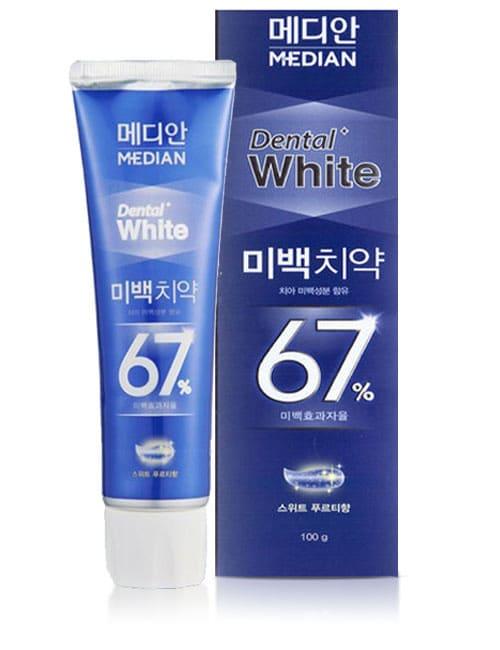 Зубная паста Median Dental White 67% Fruity Toothpaste 100г