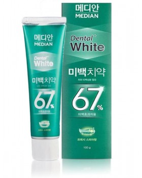 Зубная паста Median Dental White 67% Spear Toothpaste 100г