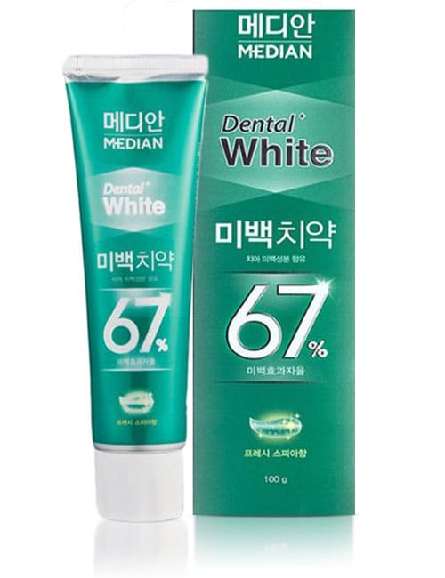 Зубная паста Median Dental White 67% Spear Toothpaste 100г