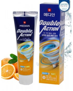 Зубная паста Median Double Action Citrus Toothpaste 130г