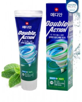 Зубная паста Median Double Action Mint Toothpaste 130г