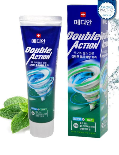 Зубная паста Median Double Action Mint Toothpaste 130г