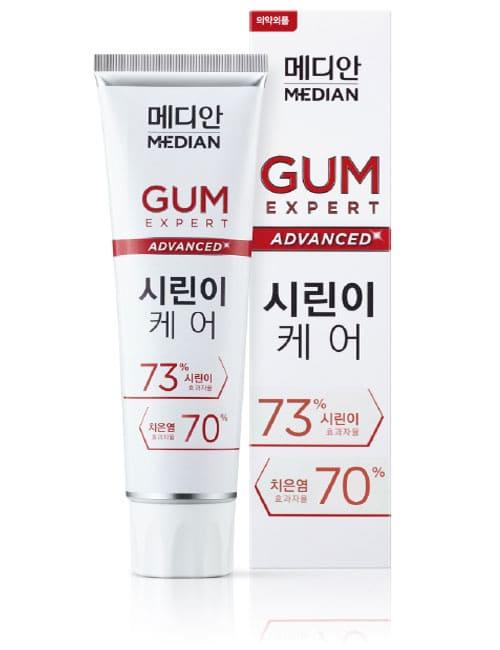 Зубная паста Median Gum Expert Advanced Sirin Toothpaste 120г