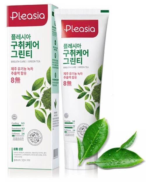 Зубна паста Pleasia Green Tea Toothpaste 100г
