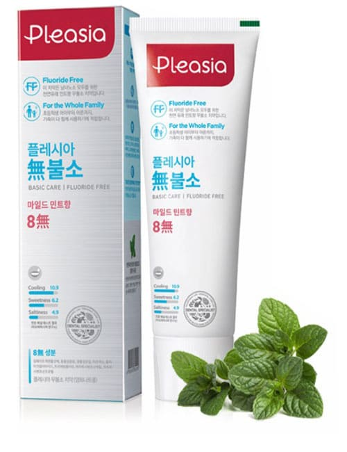 Зубная паста Pleasia Natural Mint Toothpaste 100г