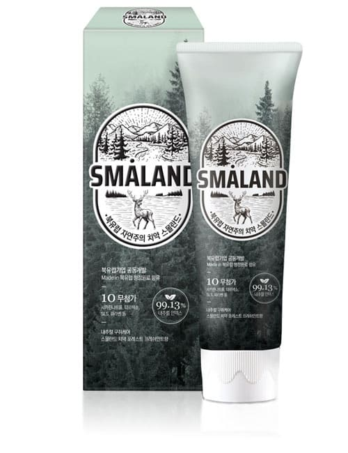 Зубна паста Smaland Forest Fresh Mint Toothpaste 100г