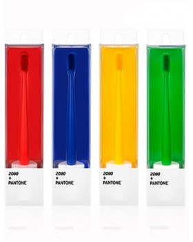 Зубная щетка 2080 + PANTONE Double Microbrush