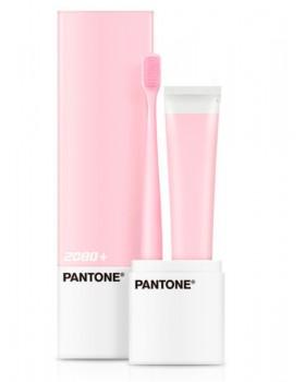 Зубная щетка и паста 2080 + PANTONE Portable Set Microbrush Pink