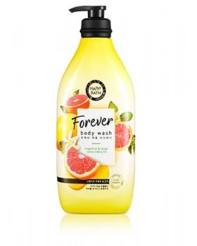 Гель для душа Happy Bath Forever Perfume Grapefruit & Ginger Body Wash 900г