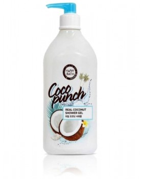 Гель для душу Happy Bath Coco Punch Real Coconut Shower Gel 800г