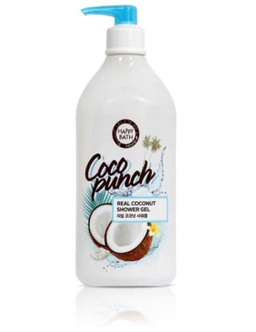 Гель для душу Happy Bath Coco Punch Real Coconut Shower Gel 800г