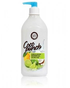 Гель для душу Happy Bath Coco Punch Lime & Lemon Shower Gel 800г