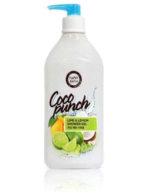 Гель для душа Happy Bath Coco Punch Lime & Lemon Shower Gel 800г