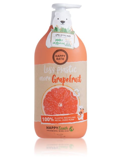 Гель для душу Happy Bath Grapefruit Essence Cooling Body Wash 900г