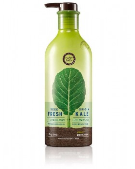 Гель для душу Happy Bath Natural Seed Origin Fresh Kale Body Wash 800г