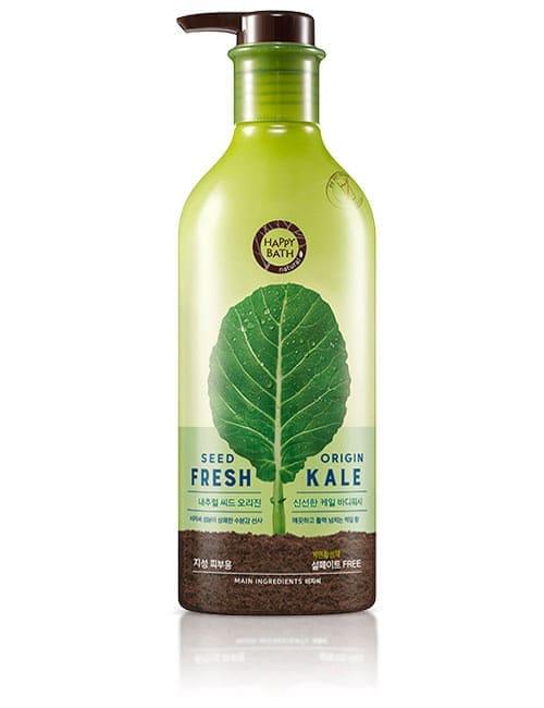 Гель для душа Happy Bath Natural Seed Origin Fresh Kale Body Wash 800г