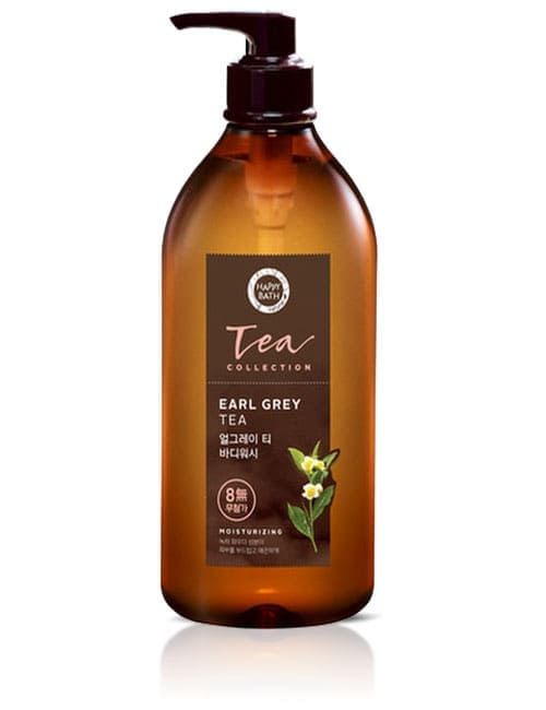 Гель для душу Happy Bath Young Leaf Tea Collection Earl Grey Body Wash 800г