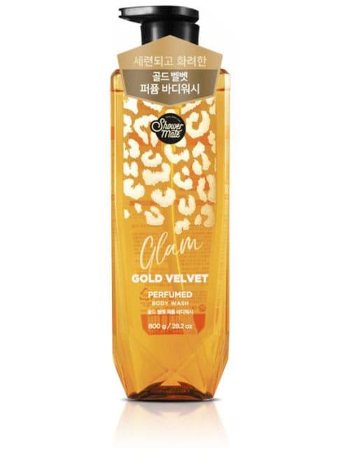 Гель для душа Shower Mate Glam Perfumed Gold Velvet Body Wash 800г