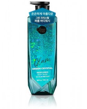 Гель для душу Shower Mate Glam Perfumed Green Crystal Body Wash 800г