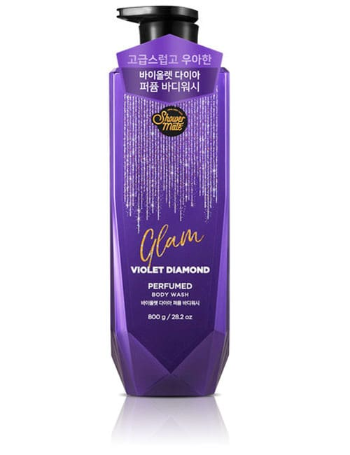 Гель для душа Shower Mate Glam Perfumed Violet Diamond Body Wash 800г