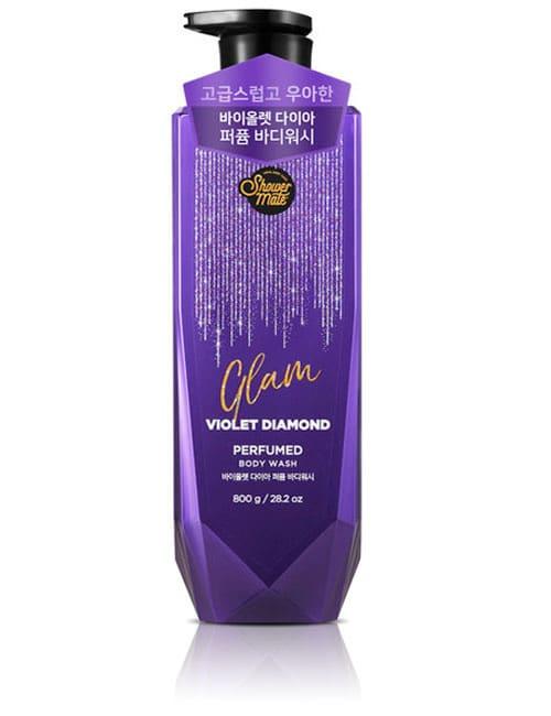 Гель для душу Shower Mate Glam Perfumed Violet Diamond Body Wash 800г