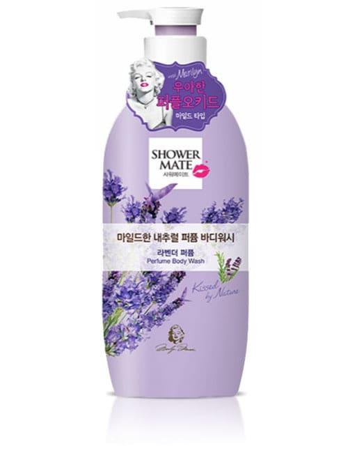 Гель для душа Shower Mate Natural Perfume Mild Lavender Body Wash 500г