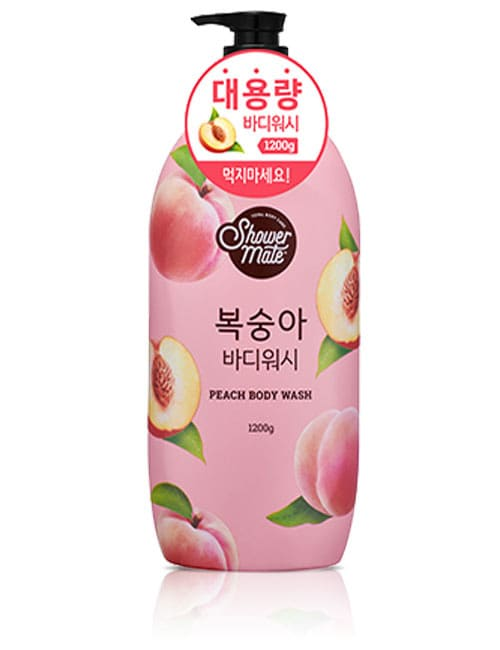Гель для душа Shower Mate Peach Body Wash 1.2кг