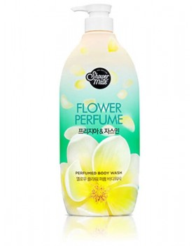Гель для душу Shower Mate Flower Perfume Yellow Freesia & Jasmine Body Wash 900г