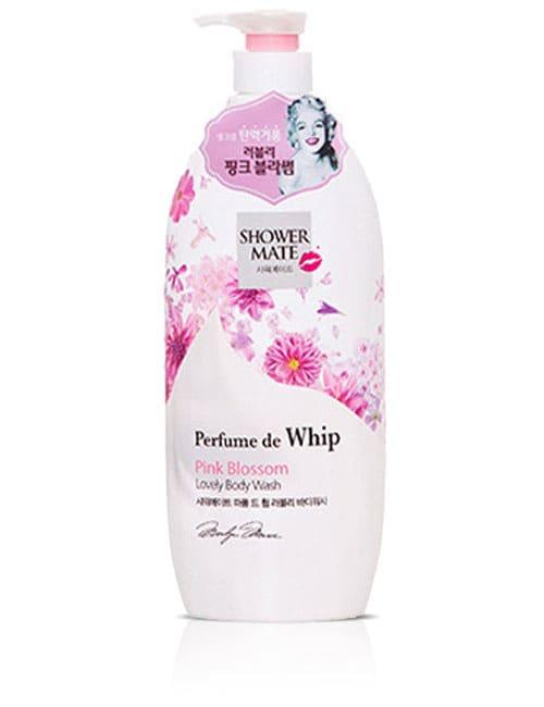 Гель для душу Shower Mate Perfume de whip Lovely Pink Blossom Body Wash 900г