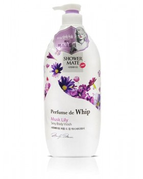 Гель для душу Shower Mate Perfume de whip Sexy Musk Lily Body Wash 900г
