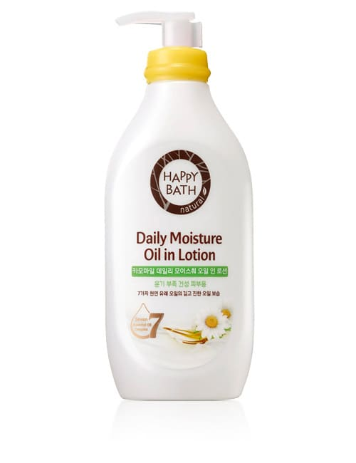 Лосьйон для тіла Happy Bath Daily Moisture Oil Chamomile Body Lotion
