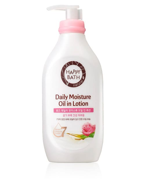 Лосьон для тела Happy Bath Daily Moisture Oil Rose Body Lotion