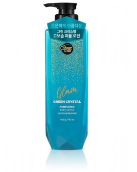 Лосьон для тела Shower Mate Glam Perfumed Green Crystal Lotion 400г