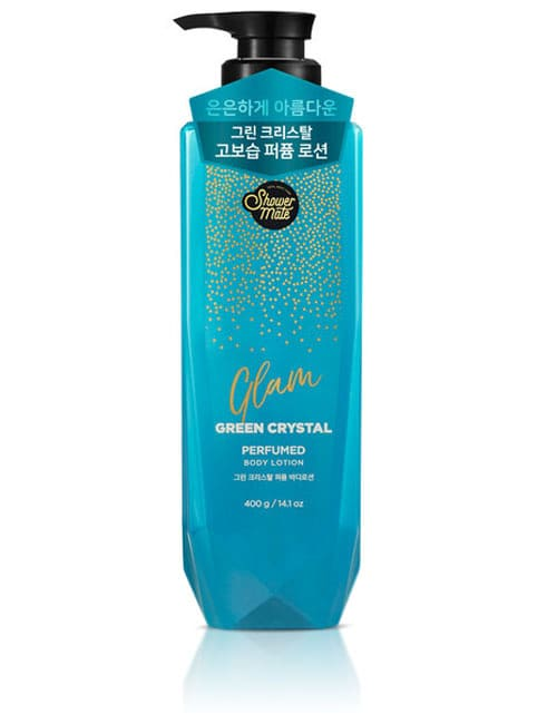 Лосьйон для тіла Shower Mate Glam Perfumed Green Crystal Lotion 400г