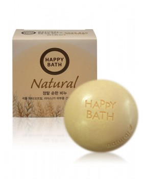 Твердое мыло Happy Bath Natural Mild Rice Water Soap 100г