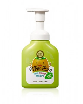 Пенка-мусс для рук Happy Bath Green Bubble Kiwi
