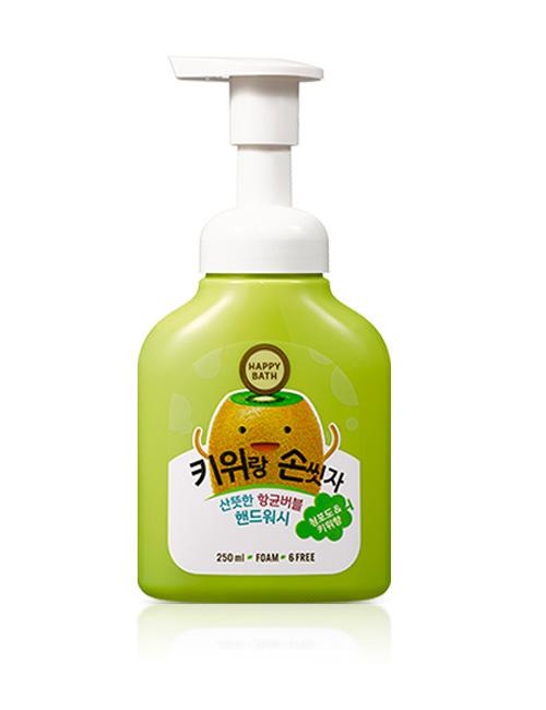 Пінка-мус для рук Happy Bath Green Bubble Kiwi
