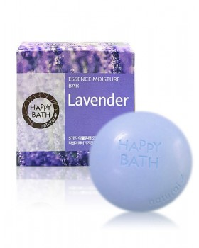 Твердое мыло Happy Bath Essence Moisturizing Bar Lavender Soap 100г