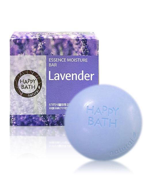 Твердое мыло Happy Bath Essence Moisturizing Bar Lavender Soap 100г